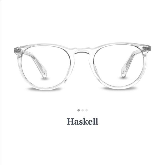 a349e66254 NWT Warby Parker Haskell Non Prescription frames